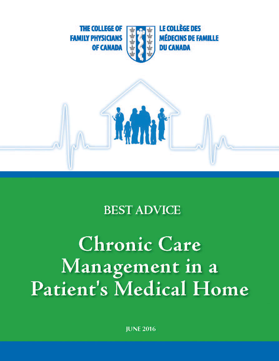 Best Advice Guide: Chronic Care Management in a Patient's Medical Home