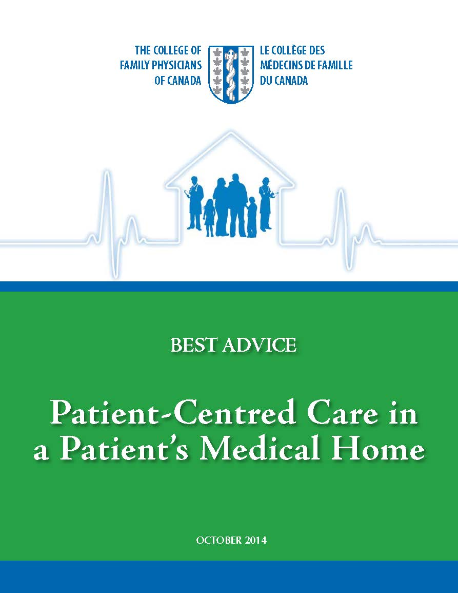 Best Advice Guide: Patient Centredness