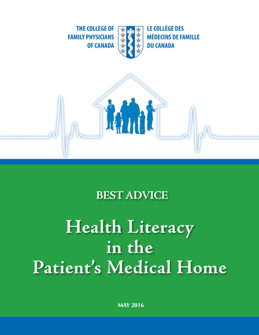 Best Advice Guide: Health Literacy in the Patient's Medical Home