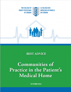Best Advice Guide: Communities of Practice in the Patient's Medical Home