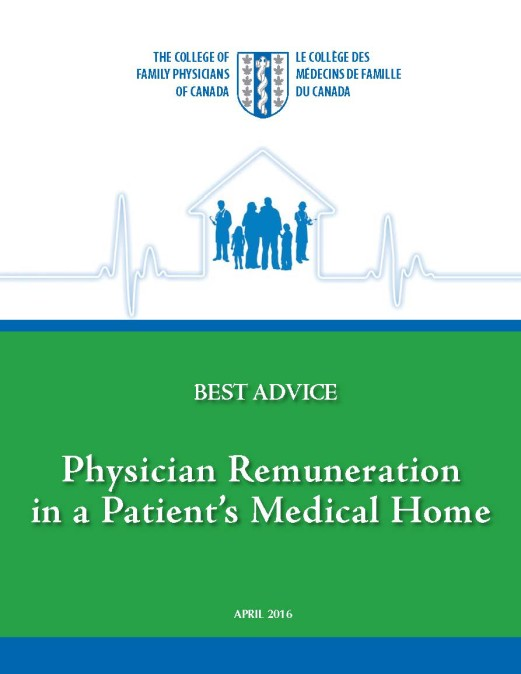 Best Advice Guide: Physician Remuneration in a Patient's Medical Home