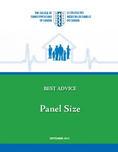 Best Advice Guide: Panel Size